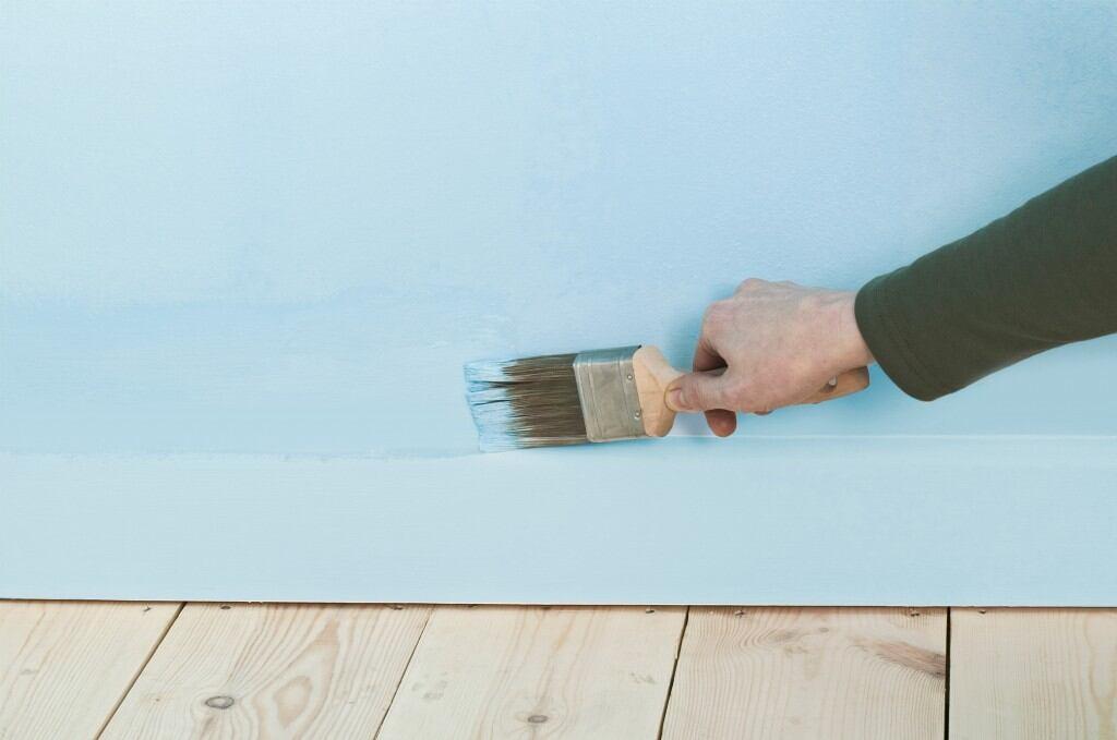 Durchgehende Farbe lässt Zimmer größer scheinen