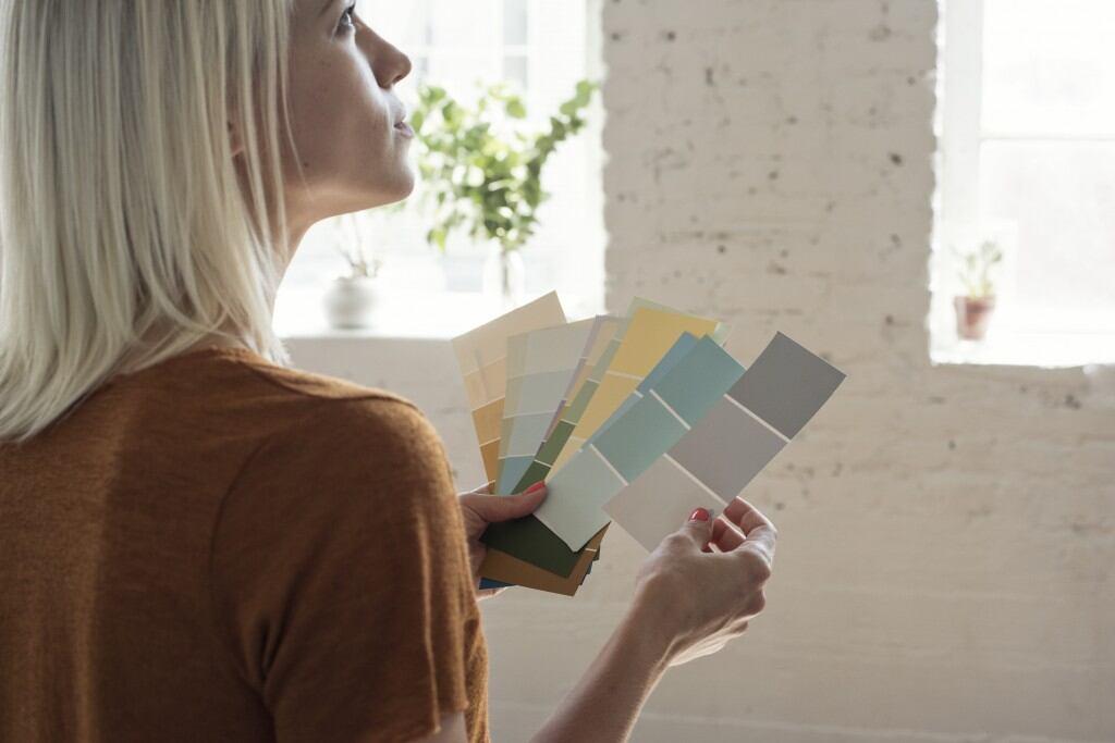 Die Farbe bestimmt, wie Sie einen Raum wahrnehmen