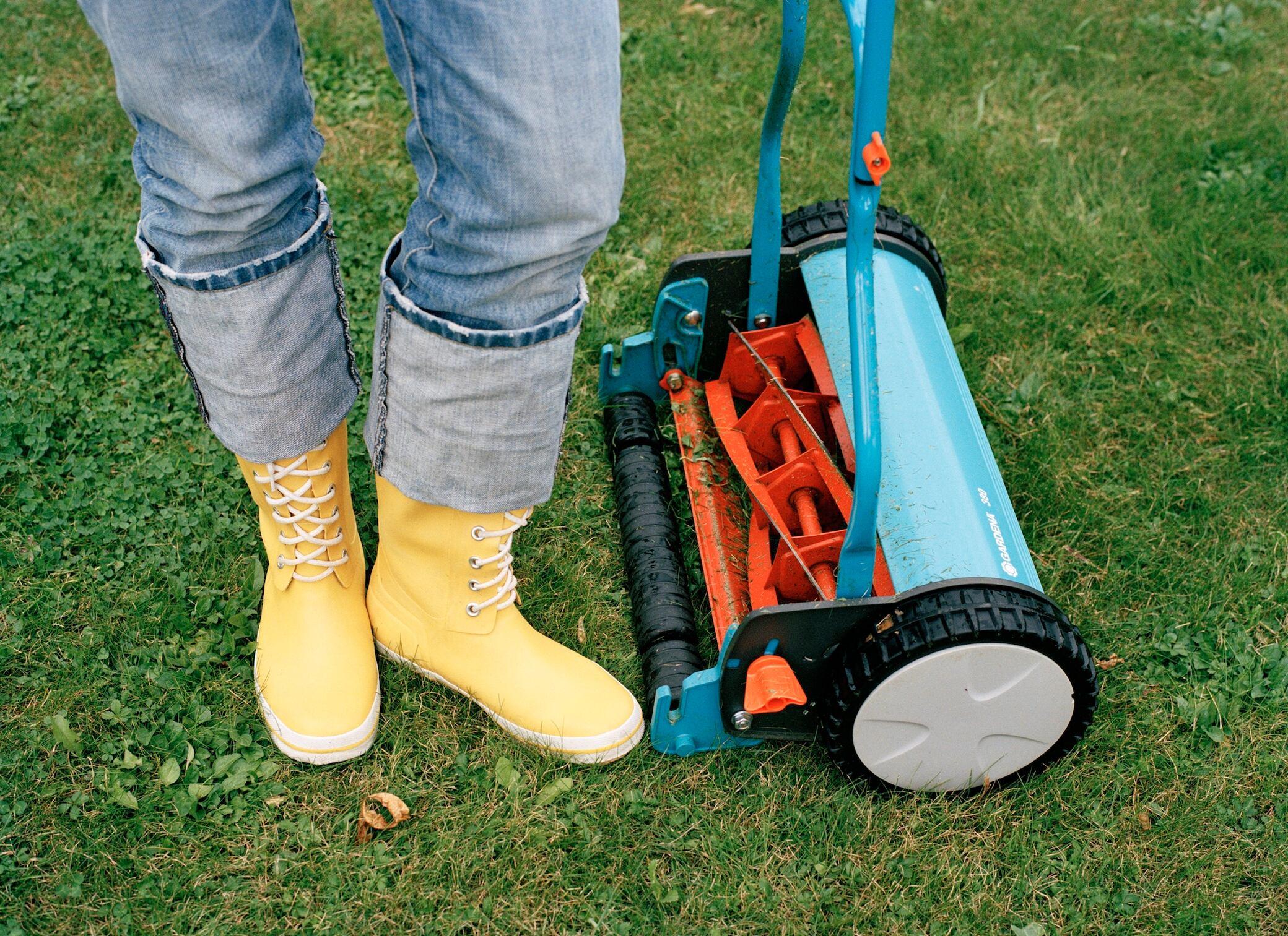 Diese Rasenmäher eignen sich für kleine Gärten
