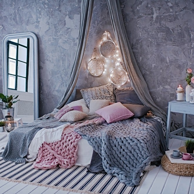Deko-Ideen: Stylisches Schlafzimmer