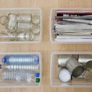 Müll kann auch praktisch und schön in der eigenen Küche getrennt werden