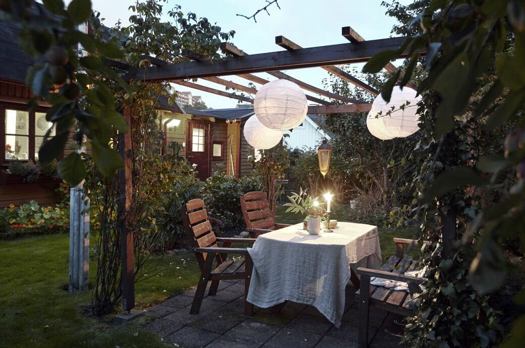 Berühmt Sitzecke im Garten: Ideen und Tipps für die Gestaltung - myHOMEBOOK @PI_64