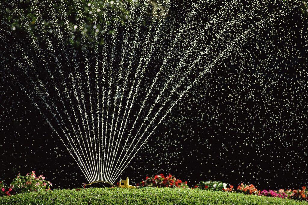 Ohne Arbeit Bewässern