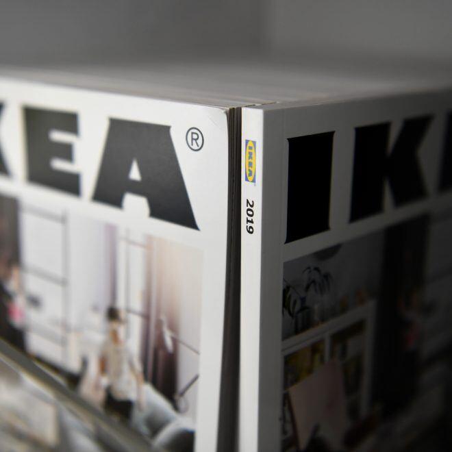 Minimalismus gehört zur Firmenphilosophie von Ikea