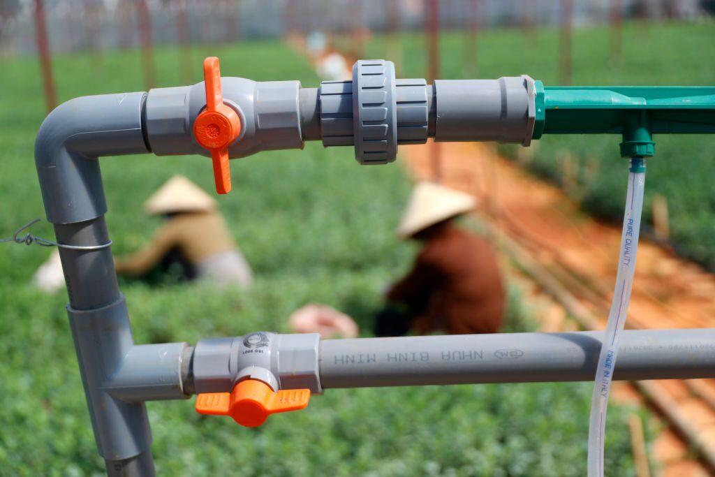 Bewässerungssysteme sind sehr vielfältig