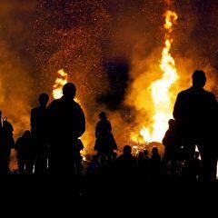 Das Verbot von Osterfeuer gilt wegen der hohen Waldbrandgefahr im Osten Deutschlands