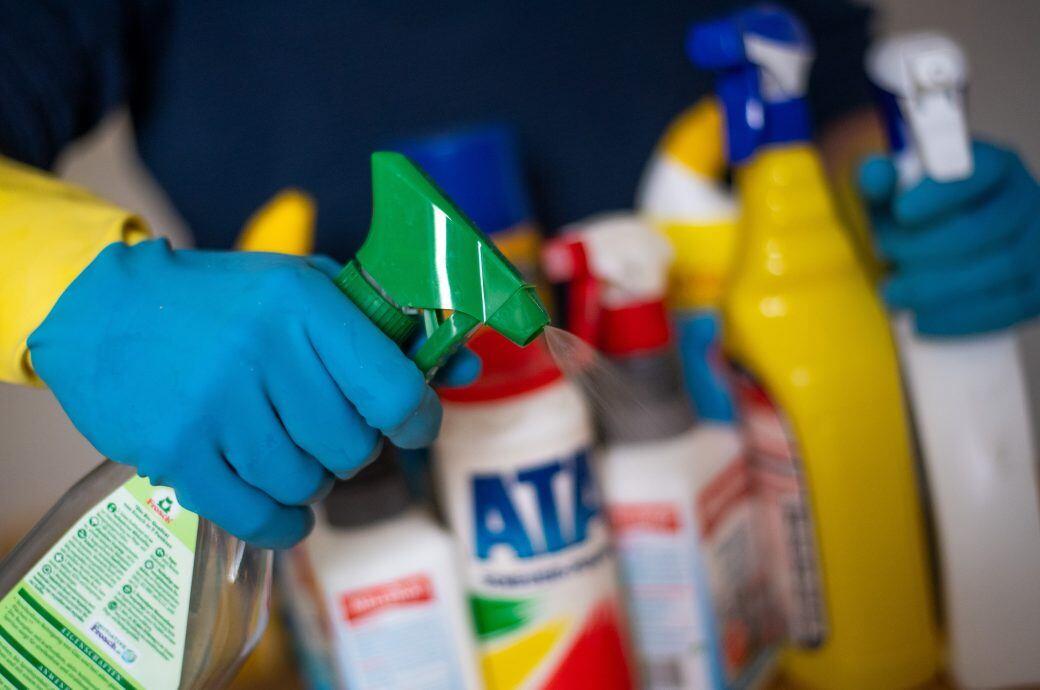 Putzen kann die Gesundheit gefährden