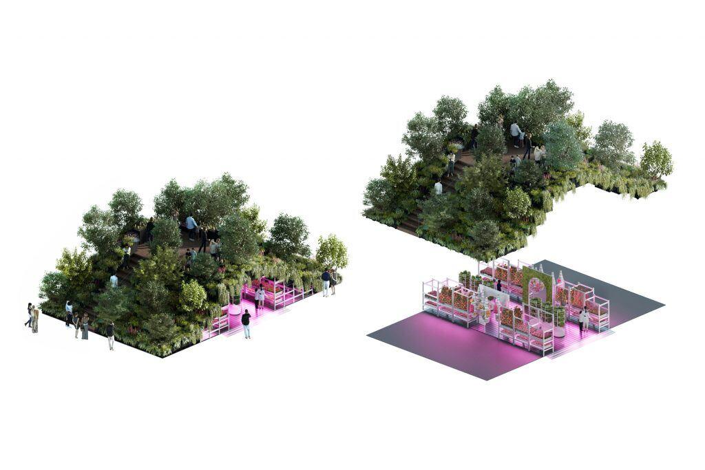 Dieser Ikea-Garten auf zwei Ebenen soll die Welt retten