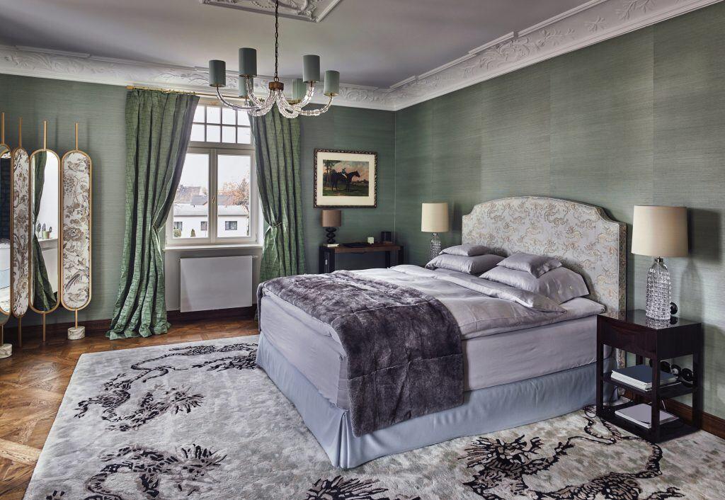 Ein großer Teppich für einen großen Raum