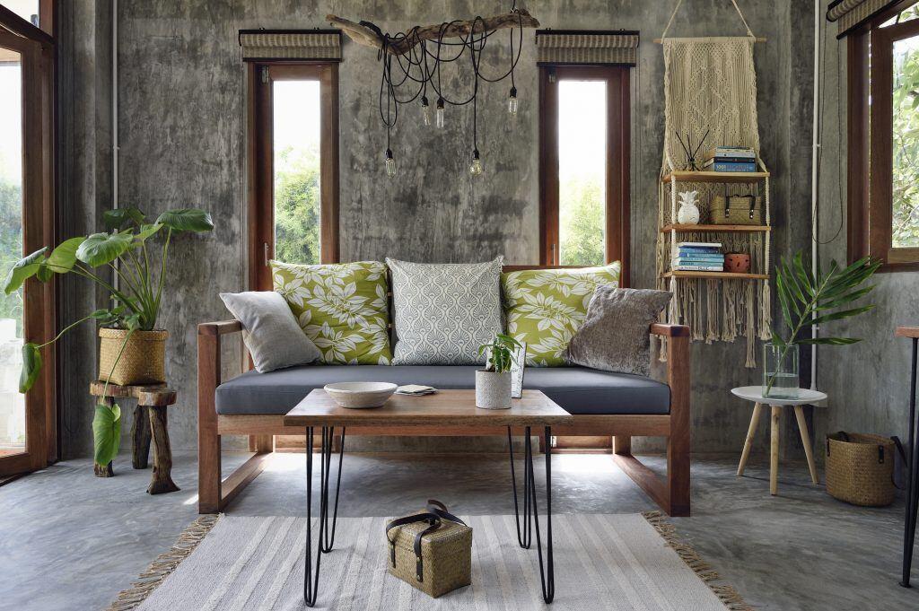 Kleine Teppiche gehören in kleine Räume