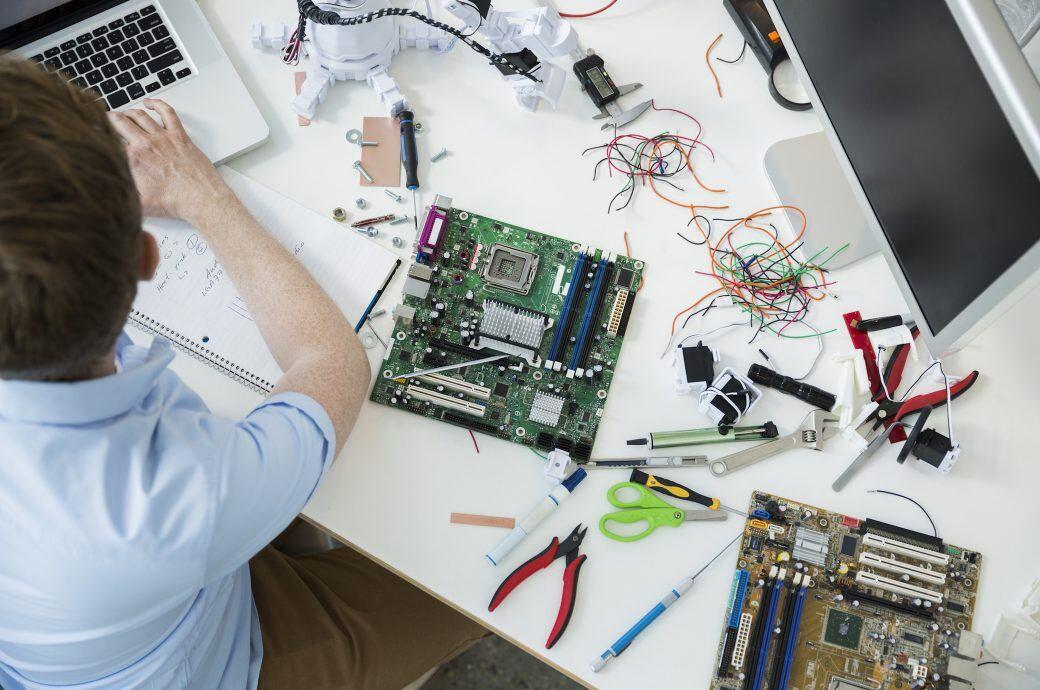 Reparaturen von defekten Geräten ist nicht zuletzt der Umwelt zuliebe wieder beliebter