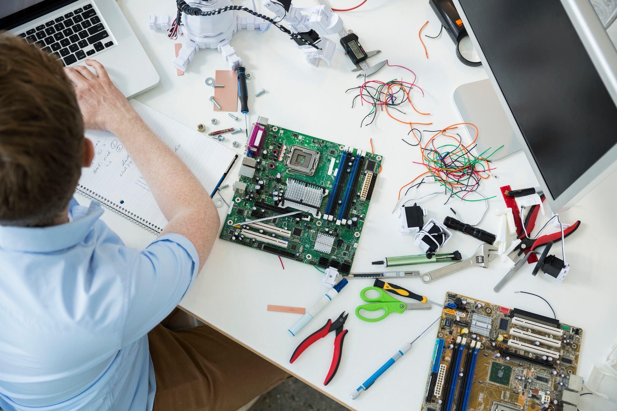 Die Reparatur von defekten Geräten feiert ein Comeback