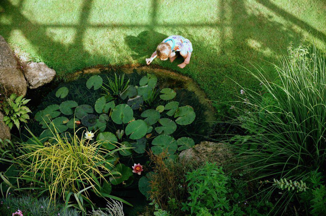 Eigentümer müssen ihren Gartenteich oder ihre Regentonne ausreichend sichern