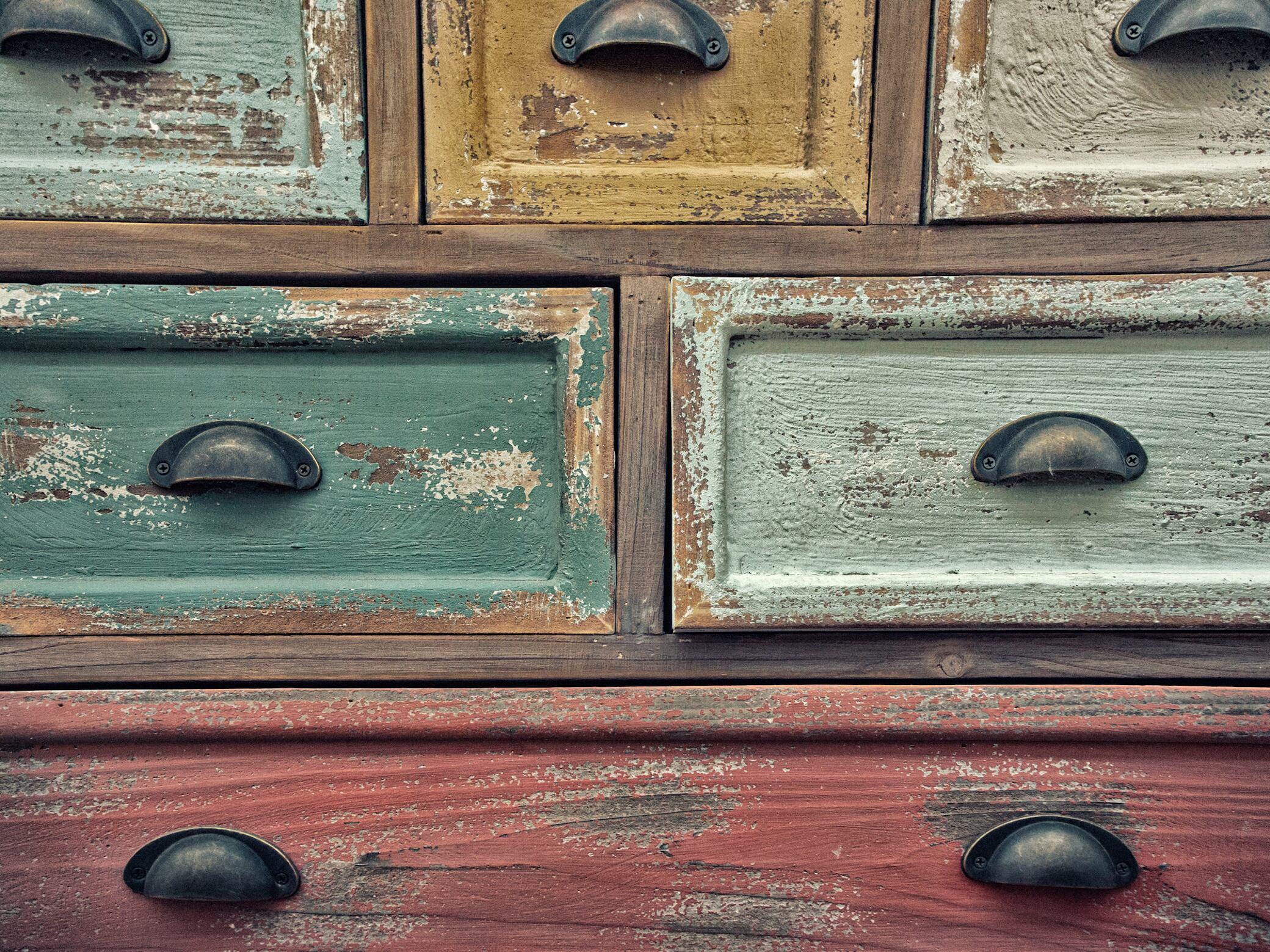 12 stylische Upcycling-Ideen für alte Schubladen