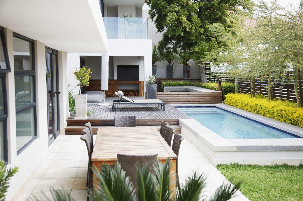 Stylische und schöne Terrassen von Designern