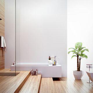 Es gibt drei Alternativen zu Fliesen im Bad