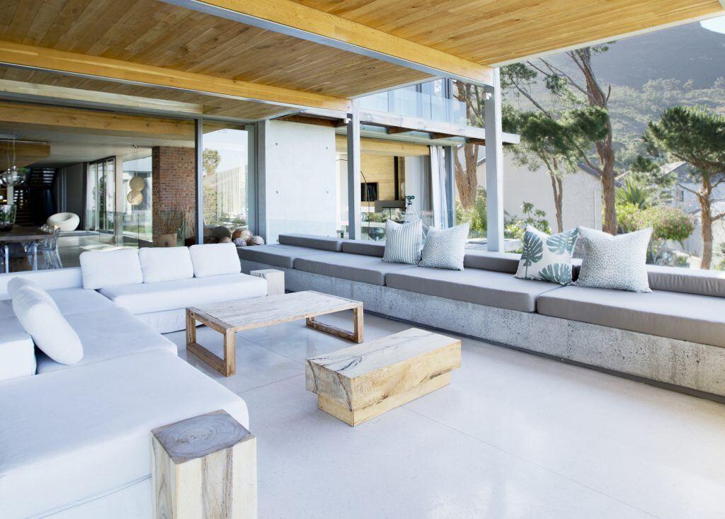 Outdoor-Wohnzimmer sind im Trend