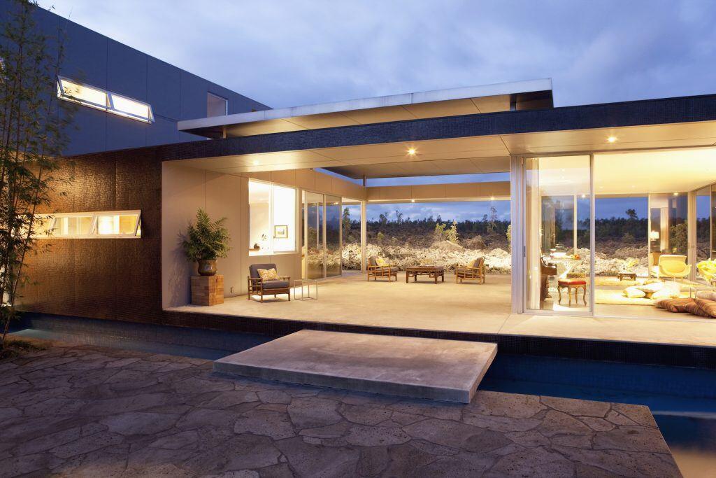 Besonders schick sind Terrassen aus Stein