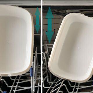 Spülmaschinen-Funktion: Mehr Platz für große Teller