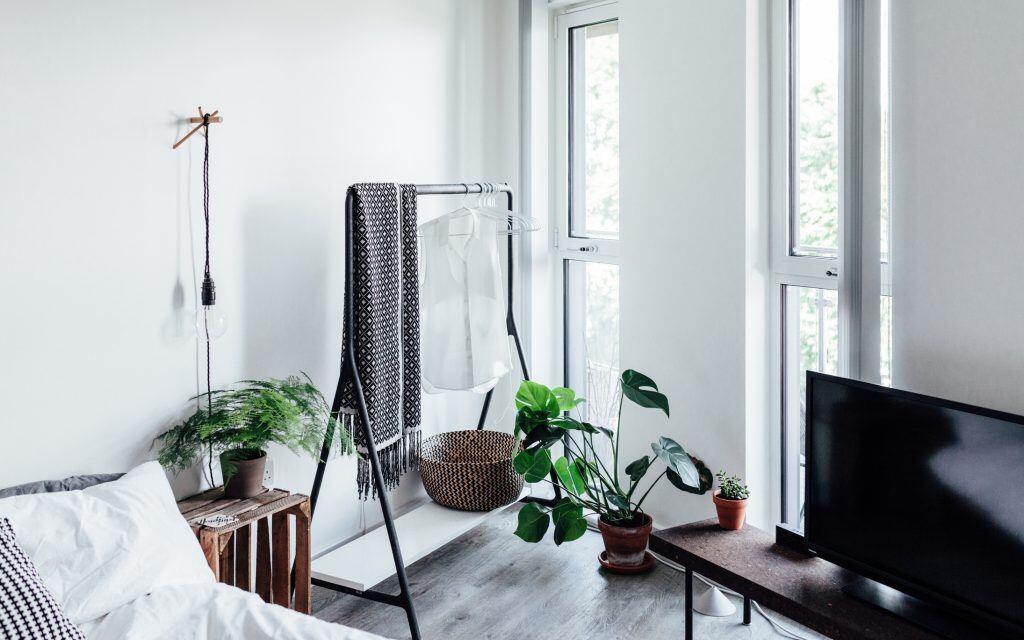 Zu wuchtige Möbel vermeiden, besser auf Leichtigkeit setzen