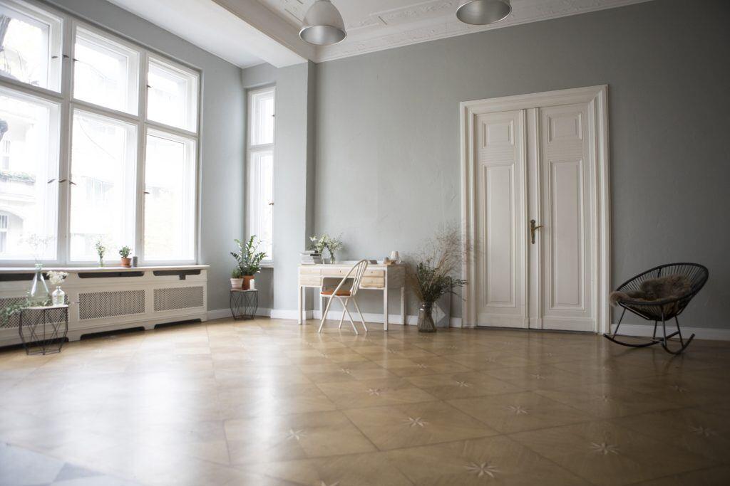 Fehler: Möbel an der Wand platziert