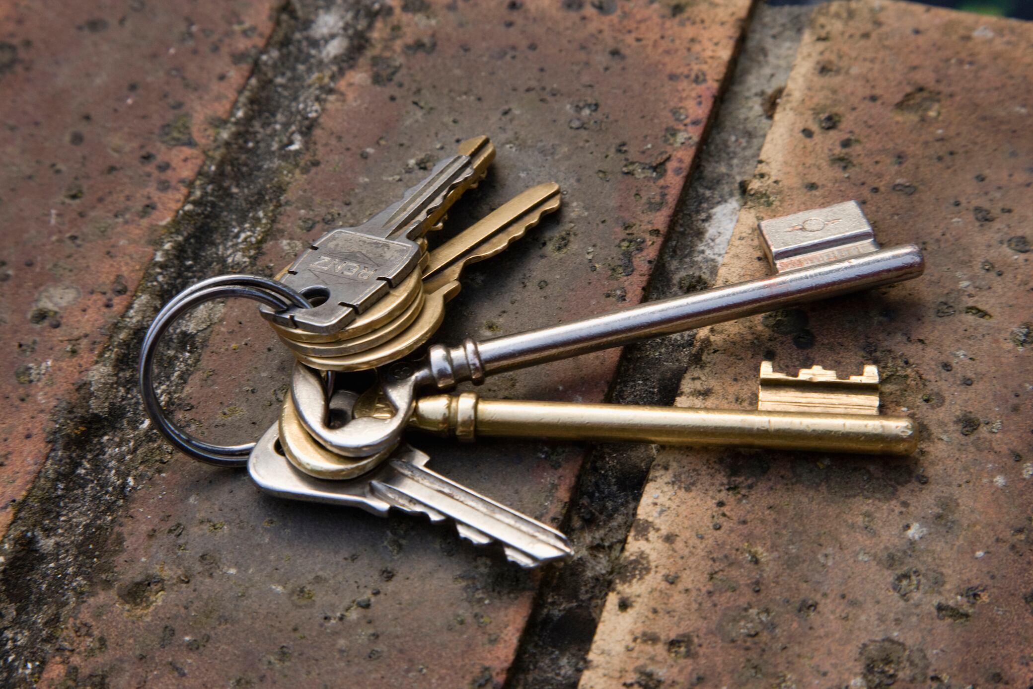 Was muss man tun, wenn man seinen Schlüssel verloren hat?