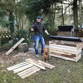 """Für die myHOMEBOOK-Serie """"Mein ganzer Stolz"""" zeigt Thore Schölermann sein bestes DIY-Projekt – ein selbst gebautes Haus"""