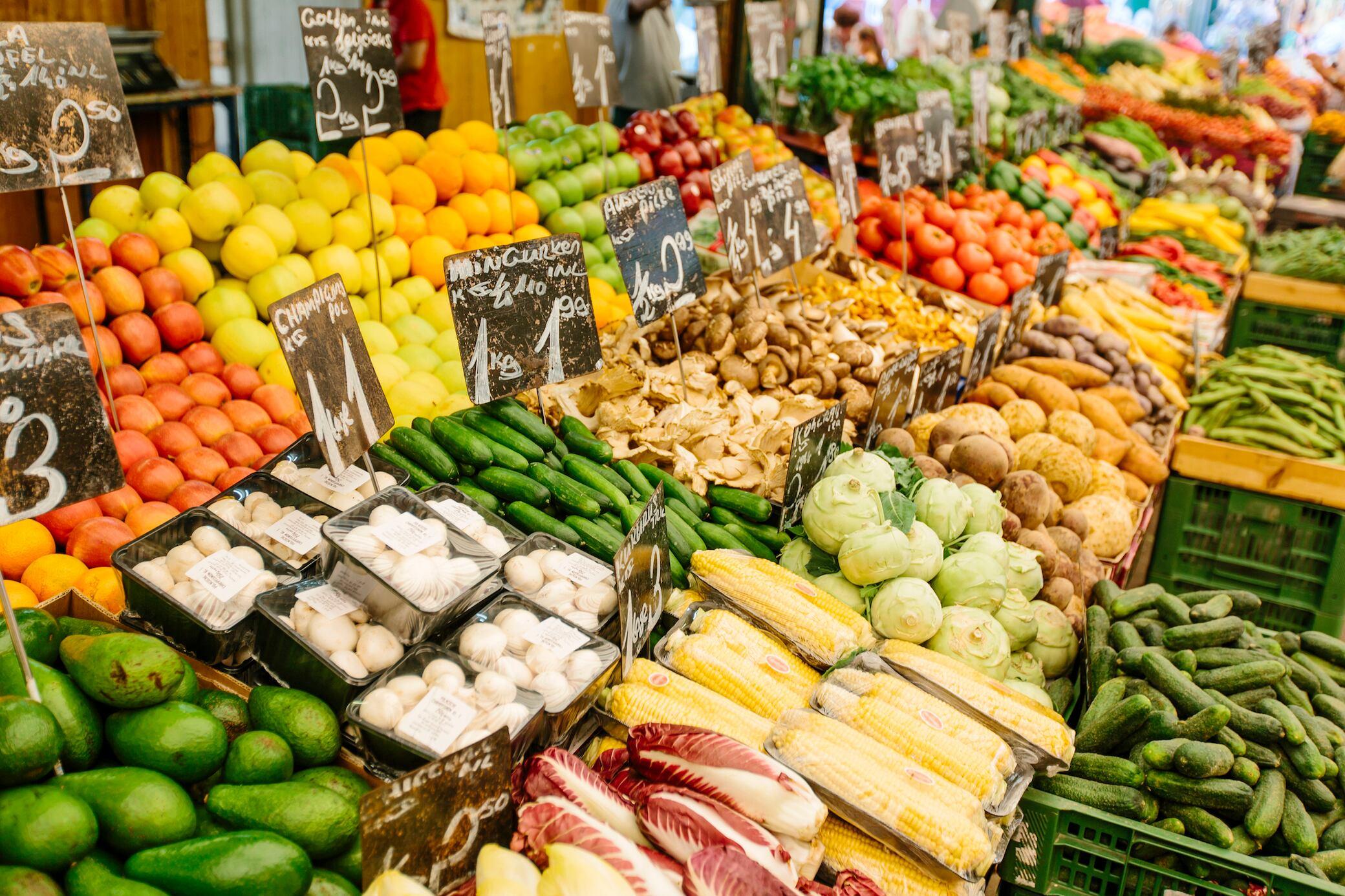 Wie Sie erkennen, ob Obst oder Gemüse reif sind