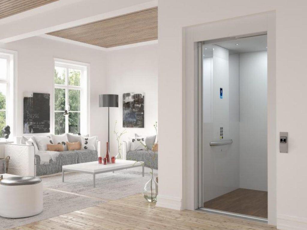 Ein Homelift verfügt über direkten Zugang zur Wohnung