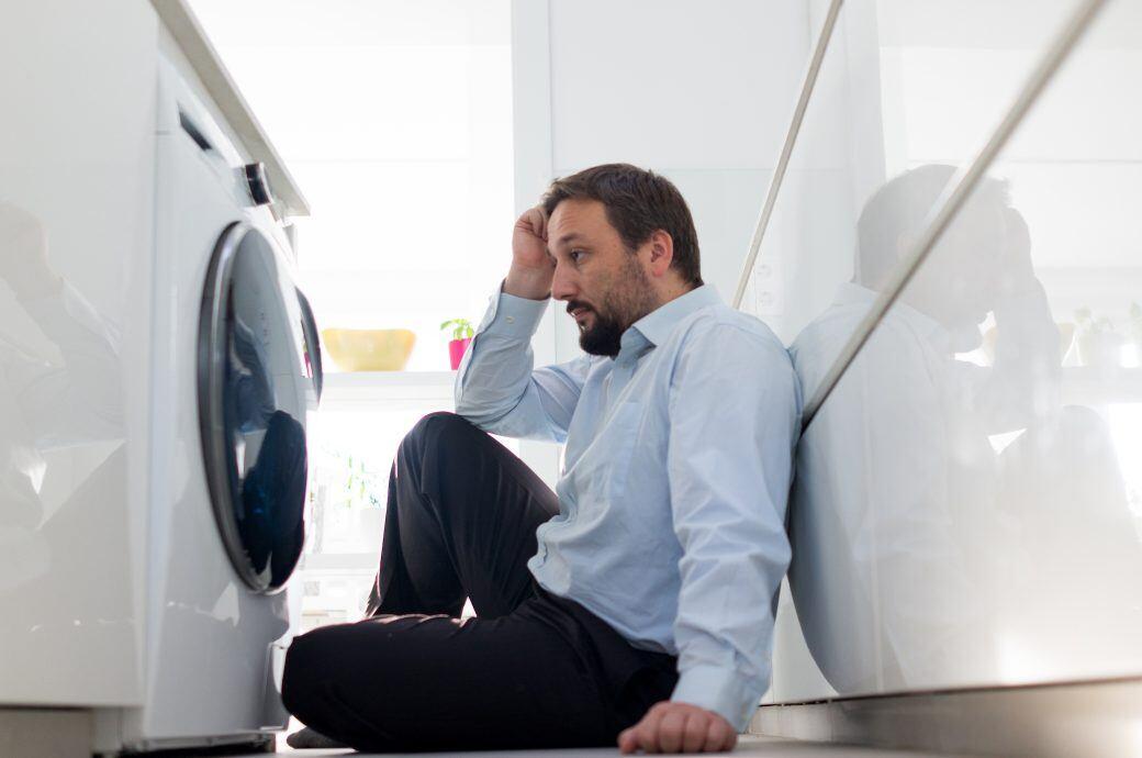 Die letzte Minute bei der Waschmaschine