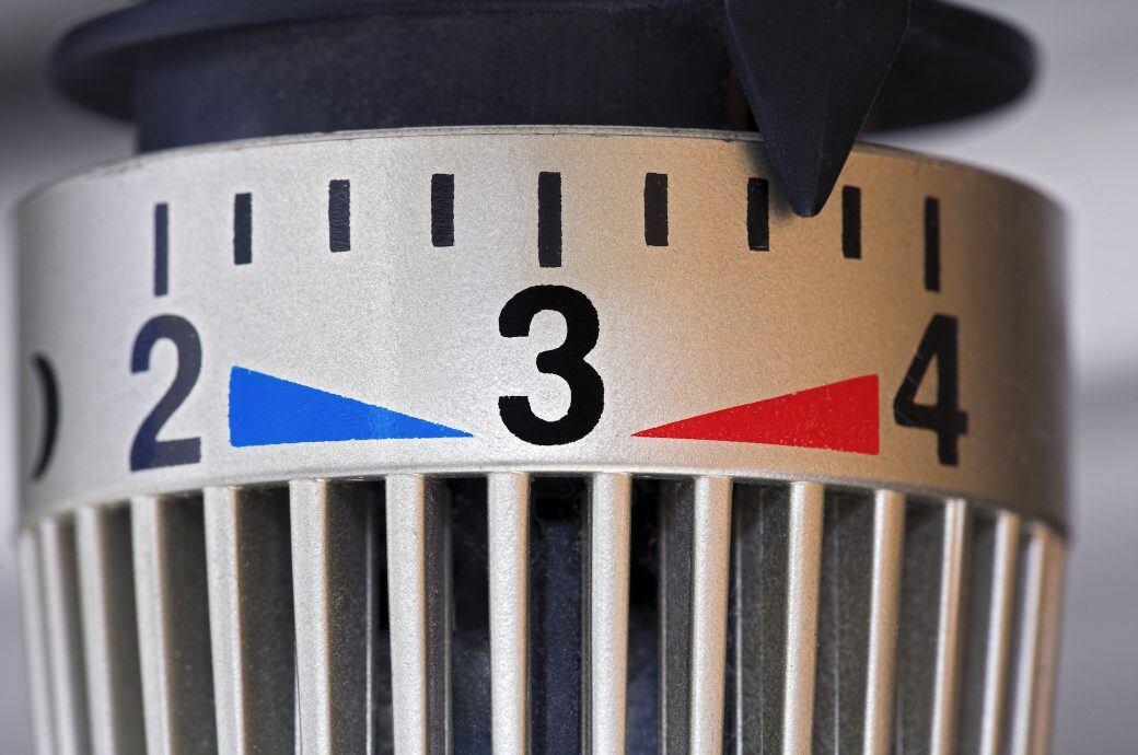 Die Zahlen auf dem Thermostat haben eine ganz konkrete Bedeutung