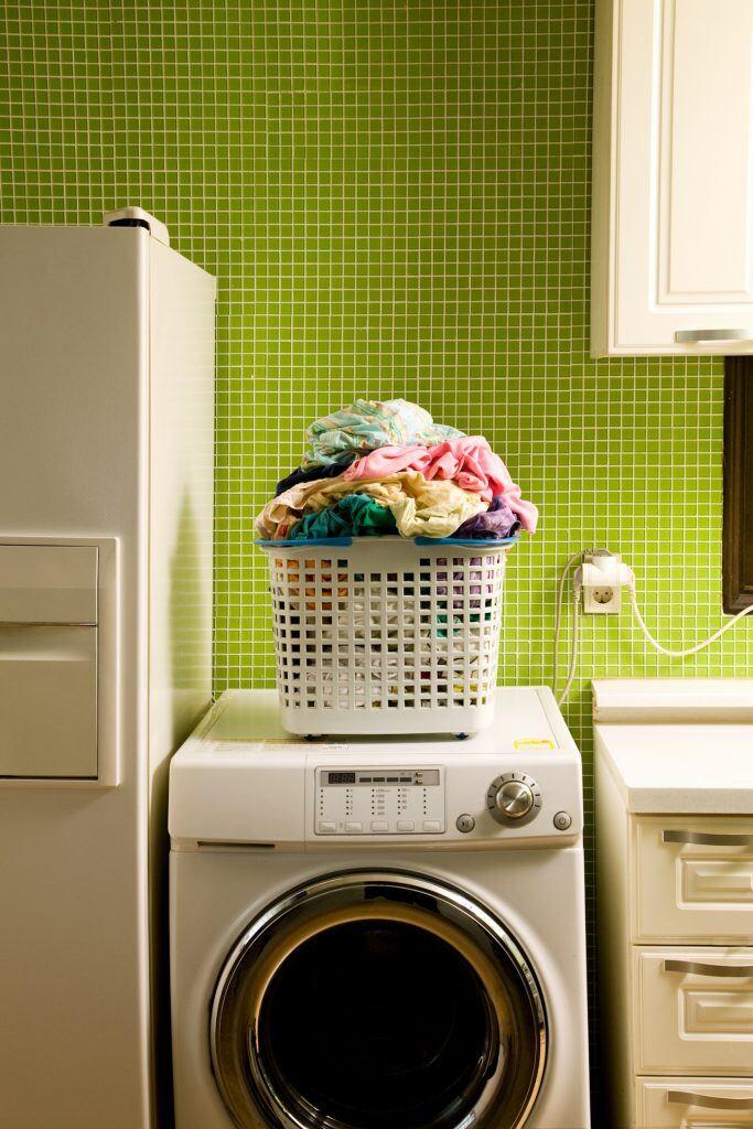 Kleine Frontlader-Waschmaschine
