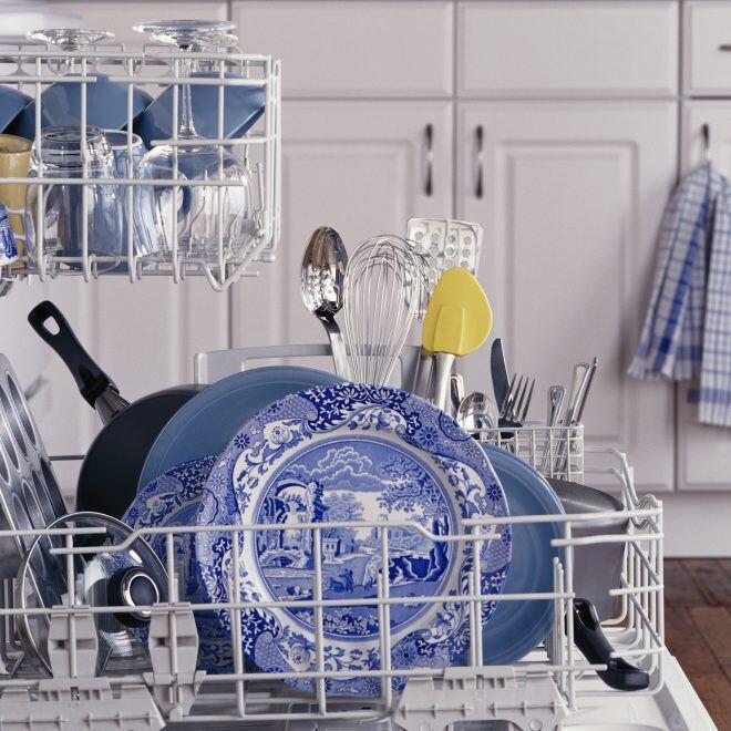 Diese Dinge sollten Sie nicht in der Spülmaschine reinigen