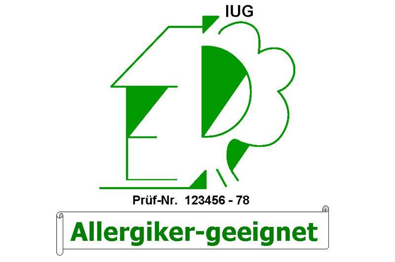 LUG Allergiker Ökosiegel