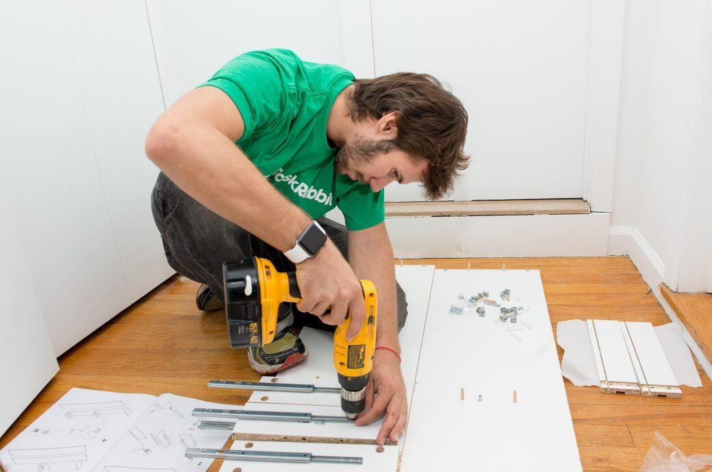Taskrabbit soll vor allem genutzt werden, um Helfer beim Aufbau von Ikea-Möbeln zu finden