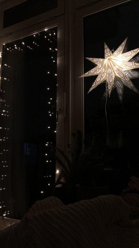 Lichterketten als Weihnachtsdeko