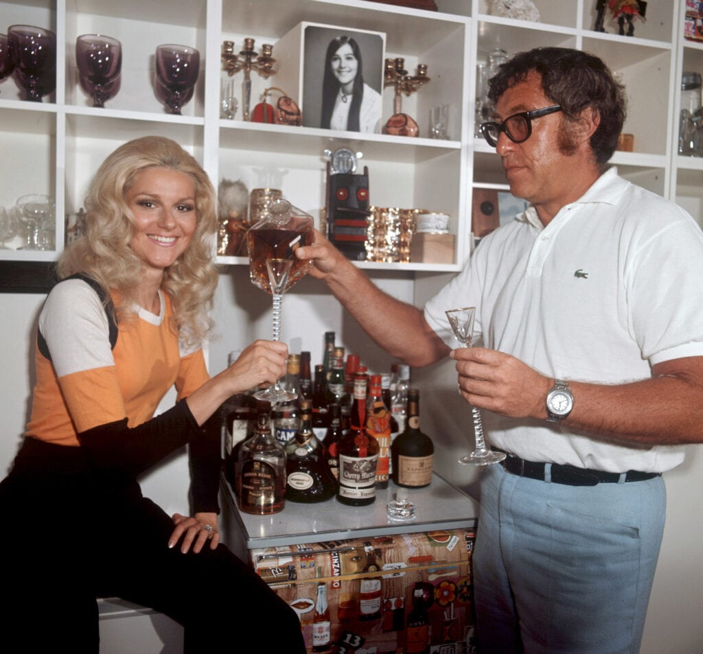 Eine typische Hausbar aus den 70er Jahren