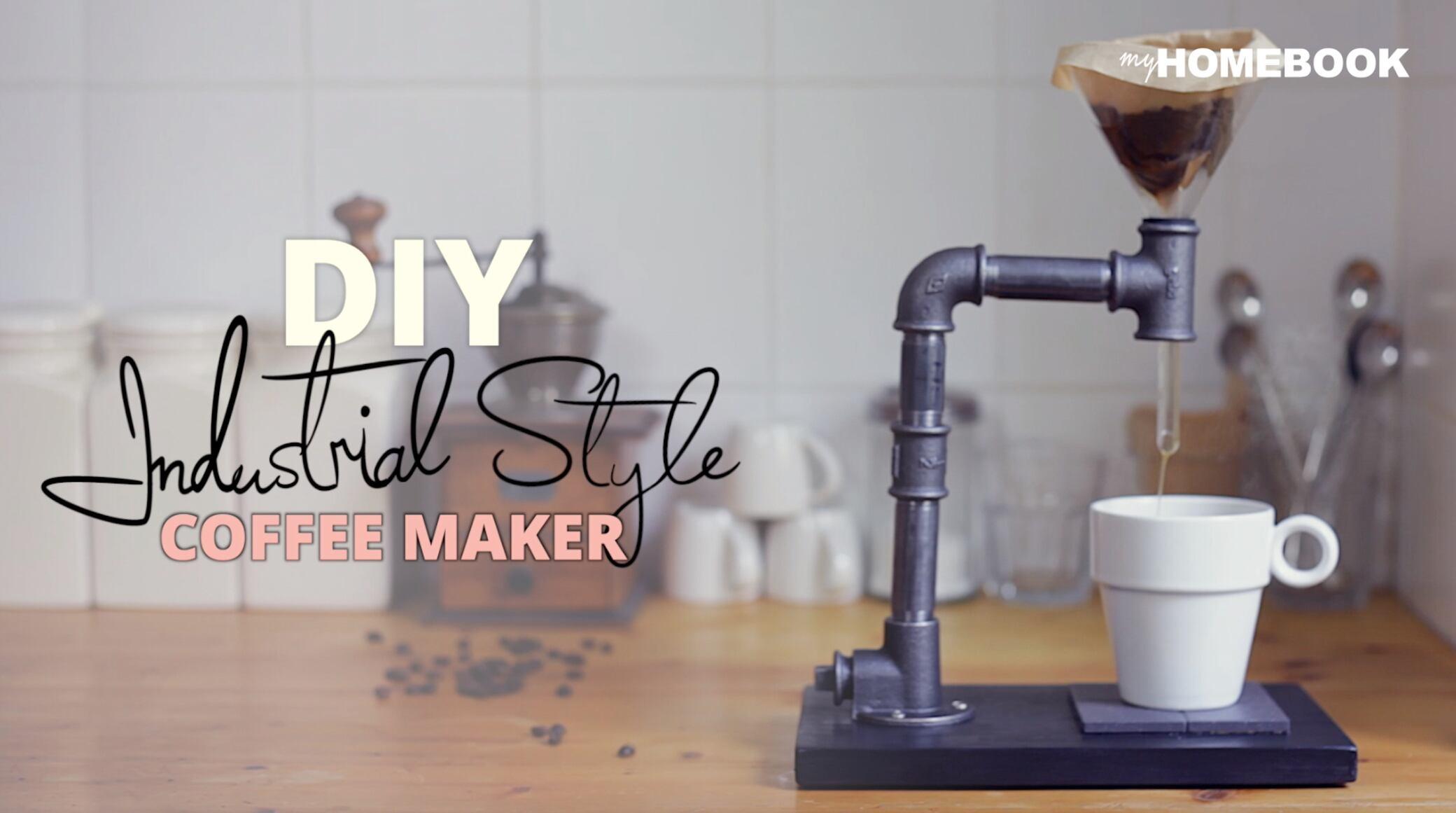 So einfach können Sie eine Kaffeemaschine selbst bauen