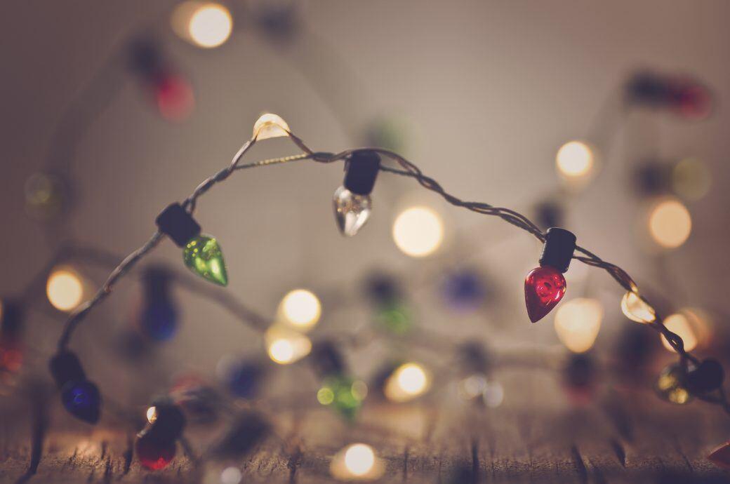 lichterkette anbringen