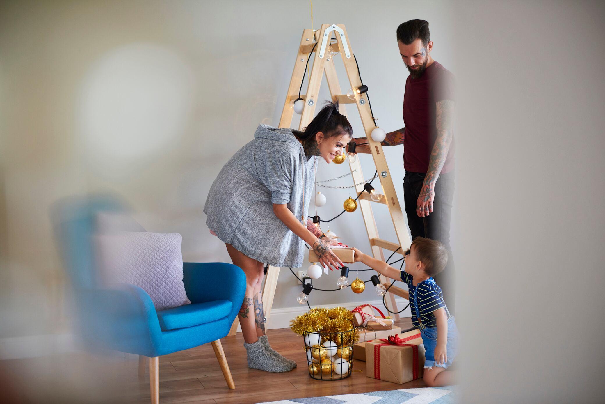 9 DIY-Alternativen zum Weihnachtsbaum