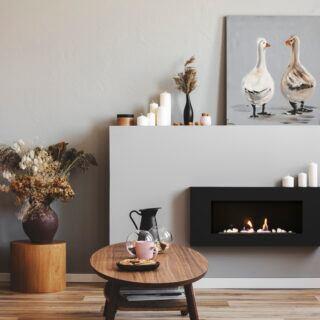 Kamin-Alternativen ohne Holz im Vergleich