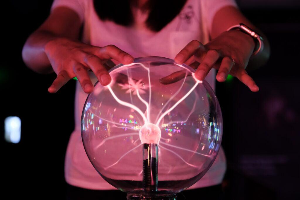 Deko-Sünde: Plasmalampe