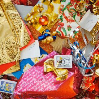 Tipps, wie man Müll an Weihnachten reduzieren kann