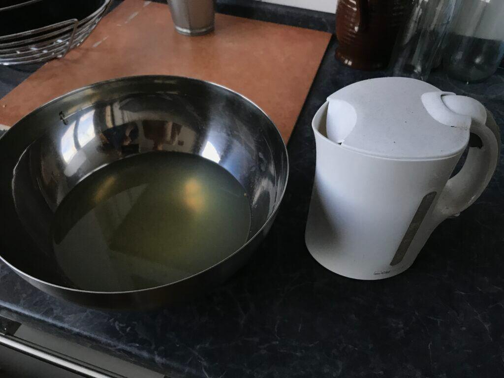 Kartoffelwasser zum Putzen verwenden