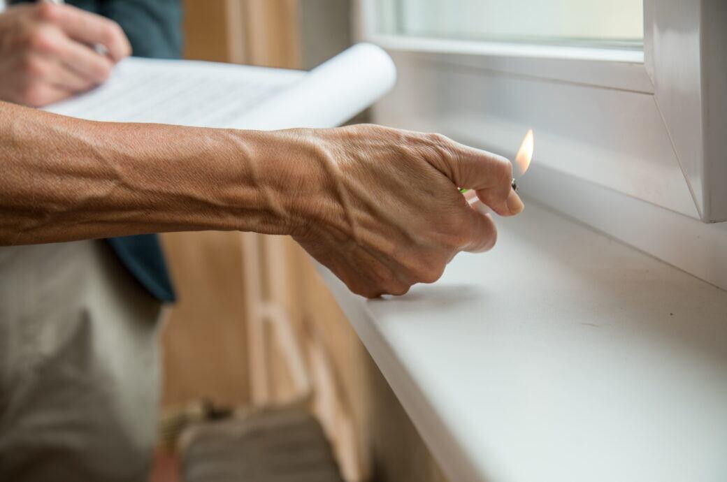 Zugluft stoppen Fenster Tür