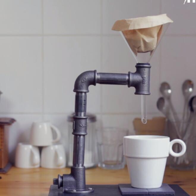 DIY-Anleitung zum selbst Bauen einer Kaffeemaschine