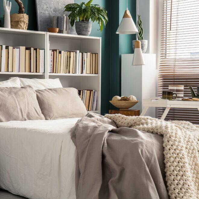 Kleines Schlafzimmer