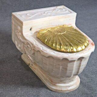 Frank Sinatras Toilette aus Marmor und Gold wurde versteigert