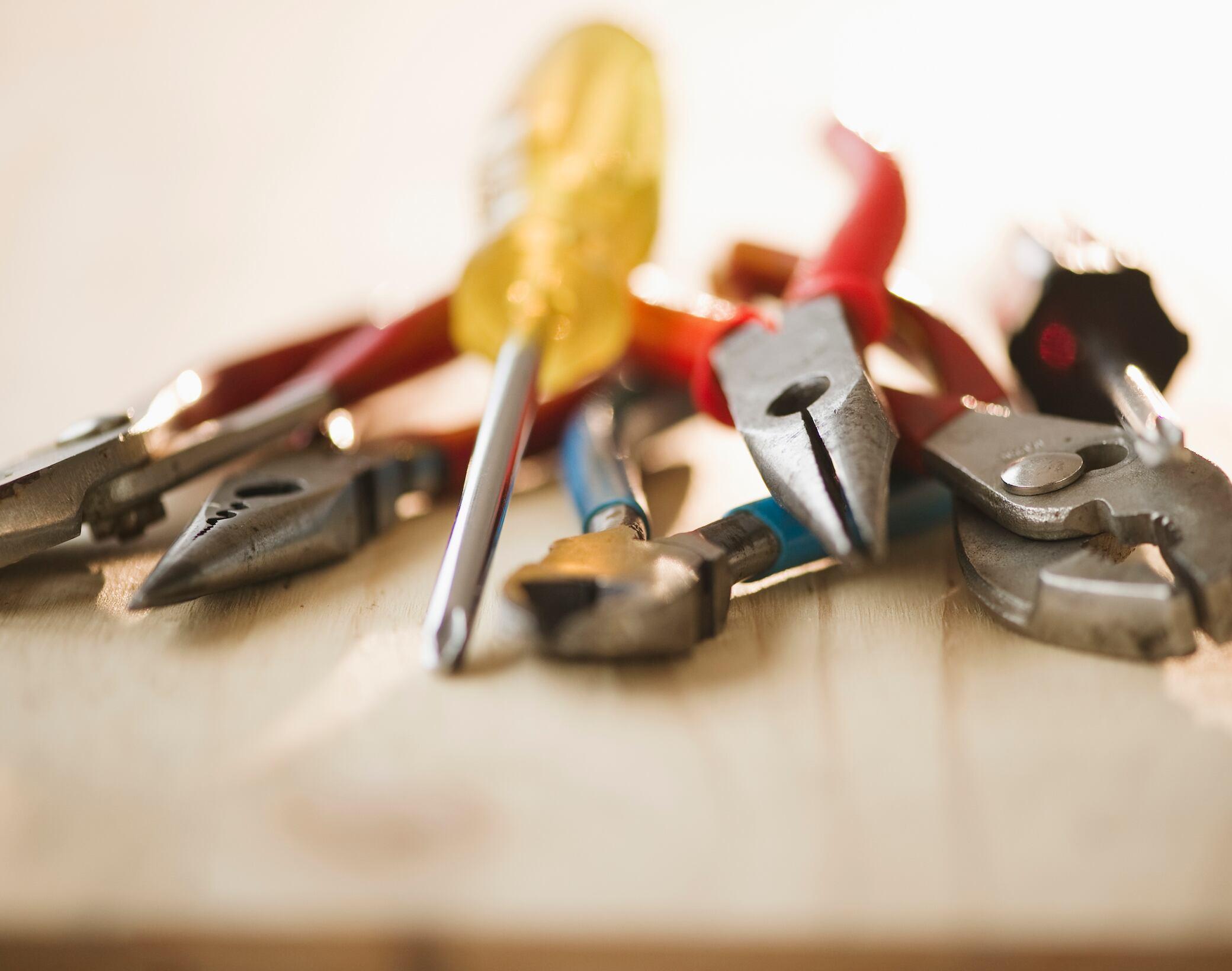 Werkzeuge für Haus und Garten - cover
