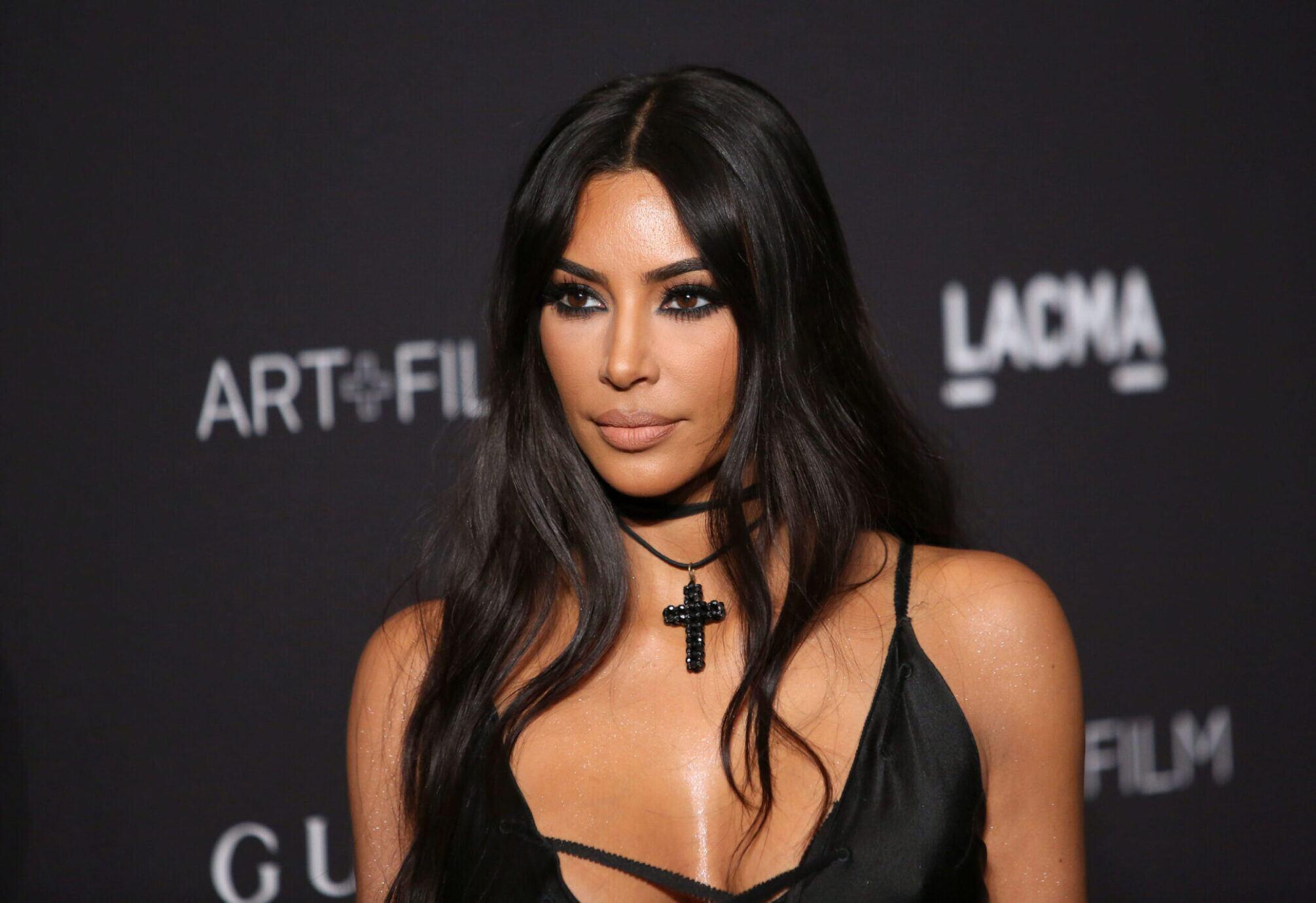 Kim Kardashian bei einem Auftritt